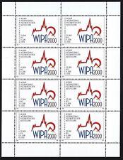 Vignetten Österreich WIPA 2000 als Kleinbogen pf**siehe Bild >