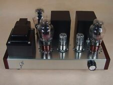 DIY kit 6N8P + 300B Directly heated Transistor Tube amp hifi amplifier 7W+7W
