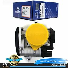 GENUINE Fuel Throttle Body Fits 2006-2012 Hyundai Kia 3.3L 3.8L OEM 35100-3C200