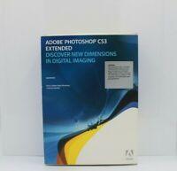 Adobe P.S. CS3 Extended,  Macintosh, PN 19400104, Full