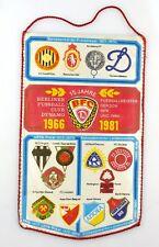 #e8100 ORIGINALE età GAGLIARDETTO EUROPA COPPA DELLA COPPA vincitore 1971-72 15 anni BFC