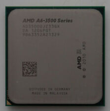 AMD A6-3500 AD3500OJZ33GX 2.1GHz FM1 3M Cach 3-Core HD 6530D APU 65W Processor