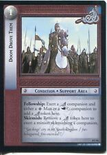 Lord Of The Rings CCG Card SoG 8.U86 Doom Drove Them