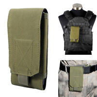 """5.5"""" Tactical Molle Cell Phone Pouch Case Belt Loop Military Phone Protect Bag"""