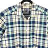 Patagonia Men 2XL Organic Cotton Multicolor Plaid Short Sleeve Button Shirt XXL