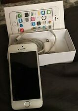 Apple iPhone 5s - 16GB - White (Sprint) Excellent Condition