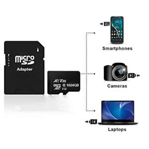 Ultra Micro SD 1024GB 1TB  Class 10 SDHC SDXC Memory Card + Adapter 120MB/s