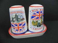 London Salt & Pepper Tower Bridge, Big Ben etc England Salt & Pepper