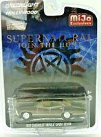 "Greenlight ""Supernatural"" 1967 Chevrolet Impala Sport Sedan Chrome Version 51222"