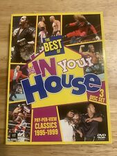 WWE: The Best of WWE In Your House (DVD, 2013, 3-Disc Set)Authentic US Release