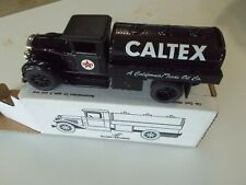 New CALTEX TANKER TRUCK BANK