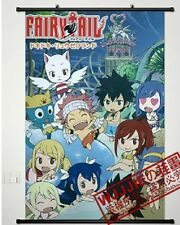 Fairy Tail Natsu Dragnir Anime Fabric Wall Scroll Poster Cosplay Japanese Cute