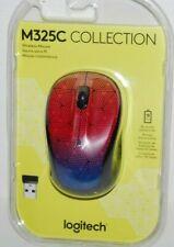 Logitech M325C Wireless Mouse NEW Geometric Triangle Multi-Color