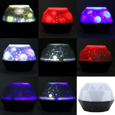 2W USB Colorful Starry Sky Projector Lamp Romantic Child Room LED Night Light