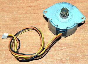 HP LaserJet 4 RH7-1136 MITSUMI M42SP-5 stepper motor paper pickup USED FULL WORK