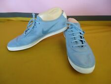 NIKE Canvas Sneakers Mens Size 7 BLUE CASUAL Lace Up NEAR NEW vgc #4365