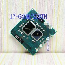 Intel Core i7-640M (SLBTN) 2, 8GHz 4M dual-core notebook CPU processor
