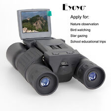 Digital Camera Binoculars Telescope 2 inch LCD Display HD Screen 720P 12x Z