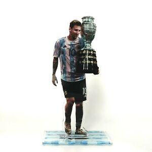 Lionel Messi - Figure Ornament Decor Argentina win Copa America 2021 Champions