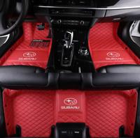 For Car Floor Mats For Subaru-BRZ-XV-WRX-Forester-Impreza Luxury Custom