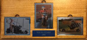 1993 Card Dynamics JEFF GORDON The Young Years Metal Card SN#0232