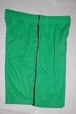 Mens Athletic Shorts GREEN MESH NET Black Piping ZONE PRO 2 Pockets L 36-38