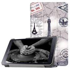 Flip CASE für Samsung Galaxy Tab A 8.0 SM-T380 SM-T385 Smart Cover Hülle Tasche