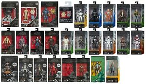 "Star Wars The Black Series 6"" Action Figure - 63 Variations to Choose 1/16/2021"
