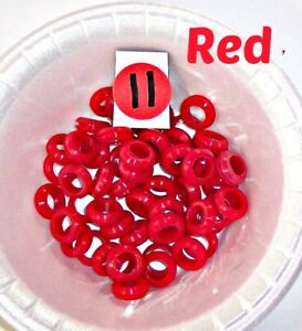 """SILICONE GROMMETS, 5/16"""", 3/8"""" or 1/2"""" (I.D.) for Mason Jar Straw-Hole Lids"""