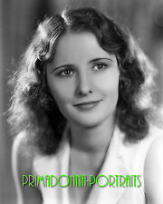 BARBARA STANWYCK 8x10 Lab Photo B&W 1930s Early Movie Star Publicity Portrait