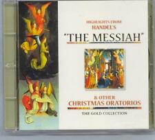 HANDEL - THE MESSIAH & OTHER CHRISTMAS ORATORIOS - MINT GOLD CD DISC