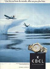 PUBLICITE ADVERTISING  1995   EBEL   la montre 1911