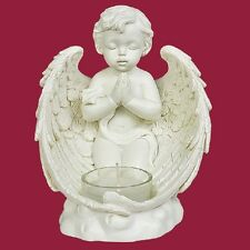 Engel Teelichthalter Angel Dekoration Kerzenhalter betend ANG658