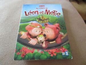 """DVD DIGIPACK """"AU ROYAUME DE LEON ET MELIE"""" dessin anime"""