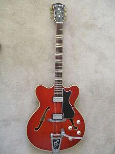 Hofner Guitar:Verithin:Vintage 1963:Bigsby:Good condition.