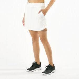 Nike Damen Dry Golf Sport Skirt Skort 17 Shorts Rock AJ5242-133 Fitness Neu M