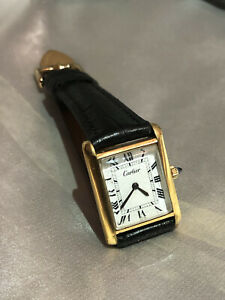 1970's Cartier Tank Gold Plated - Near Mint Condition