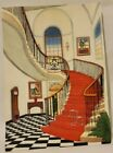 """Salinger Mansion 3D Wall Art Plaque """"Rooms with a View"""" 1998 Fanch Ledan 7X10"""