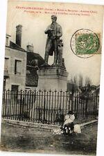 CPA   Chátillon -Coligny (Loiret) -Statue de Becquerei (Antoine-César)  (228511)