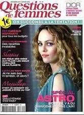 QUESTIONS DE FEMMES 2011 format pocket: VANESSA PARADIS_ISABELLE BOULAY_SHY'M