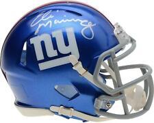 Eli Manning Gigantes De Nueva York Riddell Casco De Velocidad Mini Autografiada