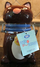 New Quality Boston Warehouse Kitty Cat Hinged Jar Kitchen Accent Frisky Business