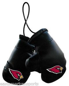 Arizona Cardinals NFL Boxing Gloves Car Auto Decoration Mirror Hanging Ornament