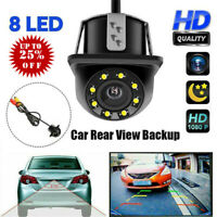 170° HD Car Rear View Backup Reverse Camera 8 LED Night Vision- Waterproof  New