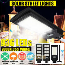 9500000Lm Commercial Solar Street Light Led Waterproof Dusk Dawn Road Lamp+Pole