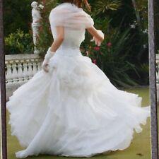 87ff88e59189 abito da sposa bianco Usato Atelier Bustino Guanti Cerchio Tulle