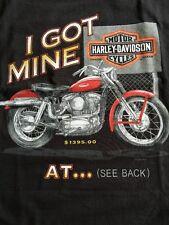 "HARLEY DAVIDSON ""I Got Mine"" FARGO, ND Vintage Motorcycle Design T-SHIRT 5X NEW"