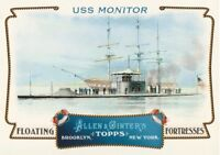2011 Topps Allen & Ginter Baseball Floating Fortresses #FF10 USS Monitor