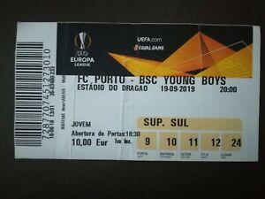 TICKET 18/19 EUROPA LEAGUE FC PORTO x BSC YOUNG BOYS