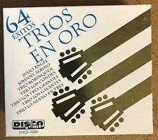 TRIOS EN ORO - BOX SET 4 CDS 64 EXITOS DIGITALIZADOS ARTISTAS ORIGINALES